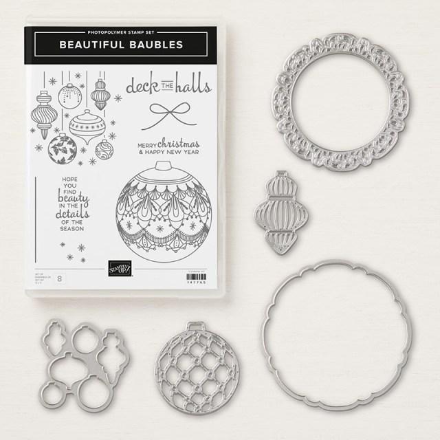 Beautiful Baubles Bundle - Images © Stampin' Up!