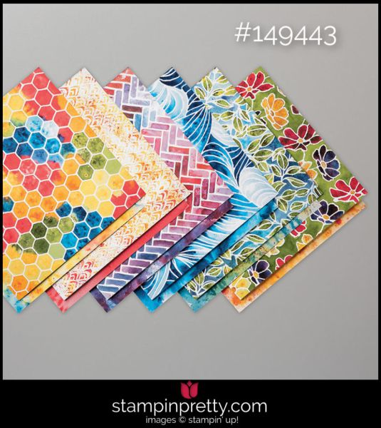 Stampin' Up! See a Silhouette Designer Series Paper