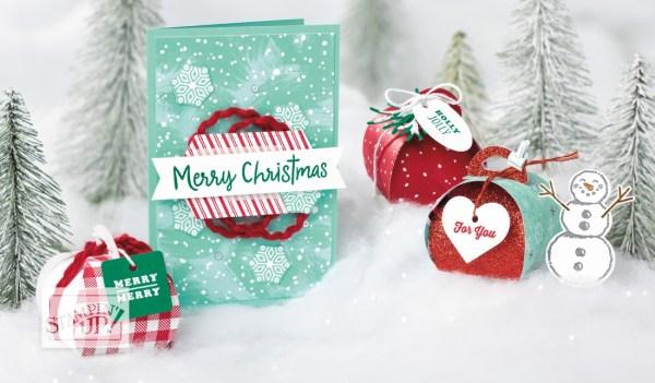Stampin' Up! 2019 Holiday Catalog Image Snowman Season