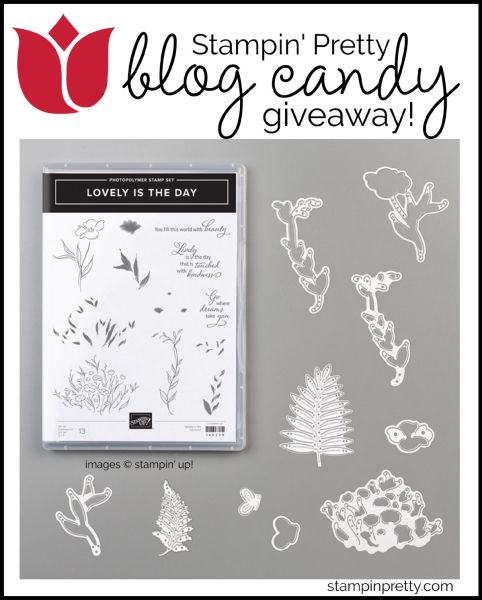 Blog Candy Lovely is the Day Bundle by Stampin' Up!