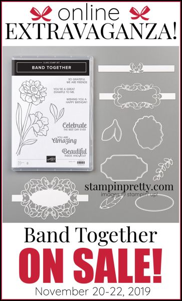Online Extravaganza 151076 Band Together by Stampin' Up!