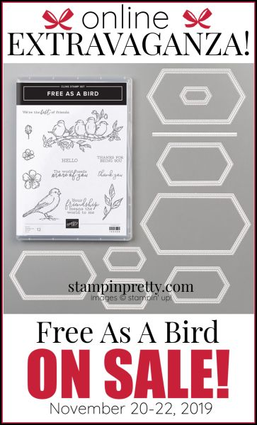 Online Extravaganza 151123 Free As a Bird by Stampin' Up!