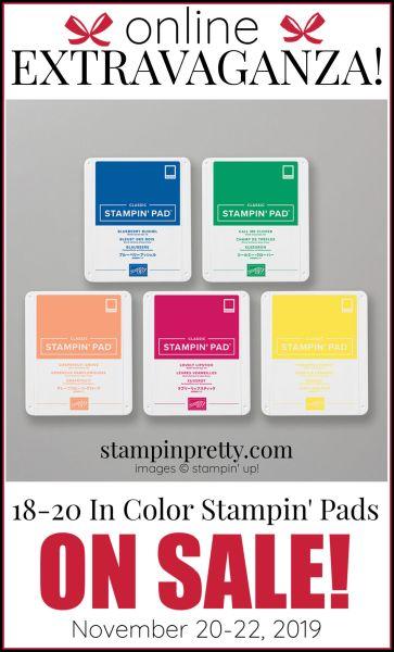 Online Extravaganza 18-20 Stampin' Pads