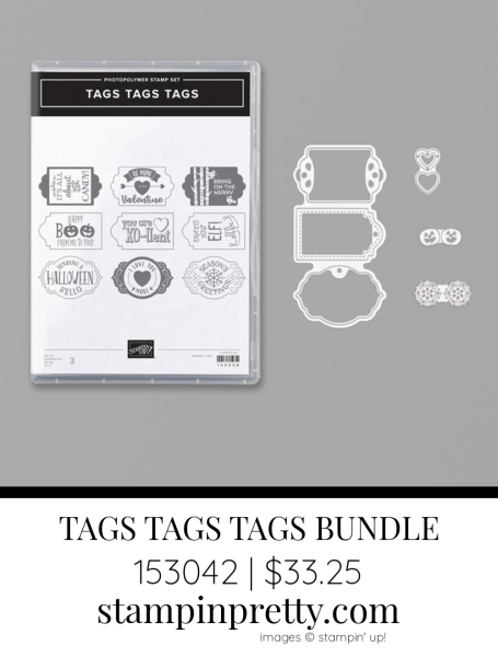 Tags Tags Tags Bundle by Stampin' Up! 153042