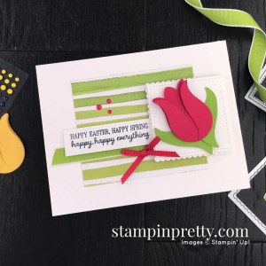 Timeless Tulips Bundle by Stampin' Up! Card by Mary Fish, Stampin' Pretty Sketchbook #sps001