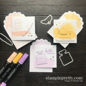 Best Dressed Note Cards & Envelopes from Stampin' Up! Trio of Cards by Mary Fish, Stampin' Pretty!