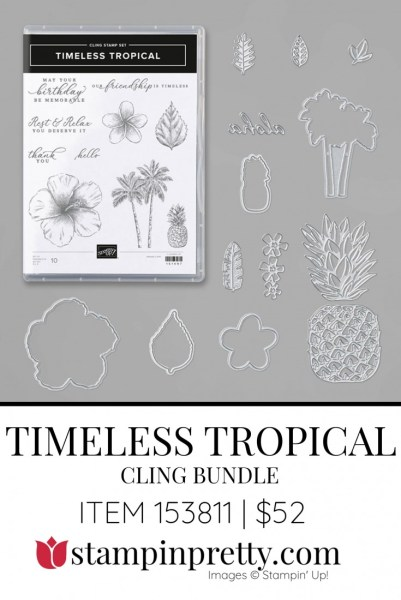 Timeless Tropical Bundle 153811 by Stampin' Up!