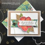 Tropical Oasis Suite from Stampin