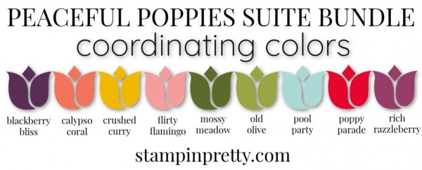Coordinating Colors - Peaceful Poppies Suite