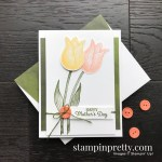 Create this card using the Timeless Tulips Bundle from Stampin
