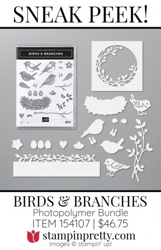 Birds and Branches Bundle by Stampin' Up!