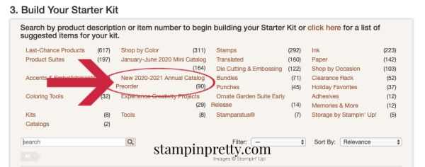 Join - Add 2020-2021 Annual Catalog Items to Your Kit