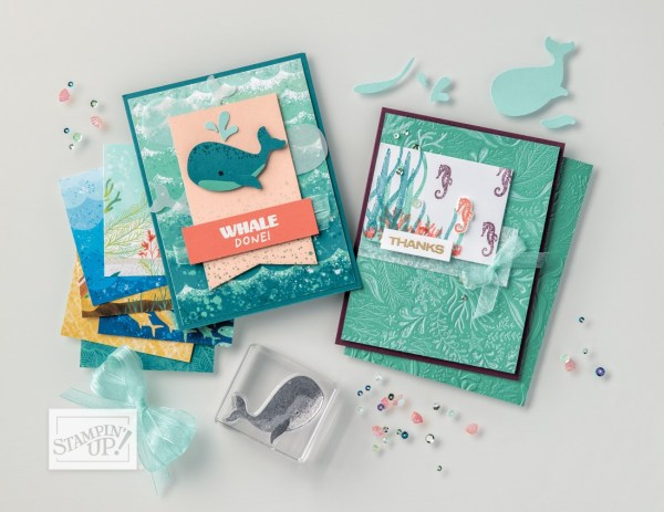 Whale of a Time Suite by Stampin' Up! Shop Online, Mary Fish Stampin' Pretty