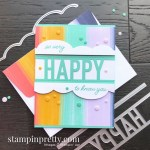 Create this card using the So Much Happy Bundle from Stampin