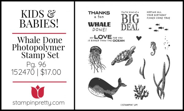 Whale Done Stamp Set by Stampin' Up!