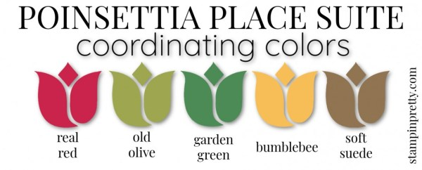 Coordinating Colors - Poinsettia Place Suite
