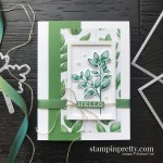 Create this card using the Forever Fern Bundle by Stampin