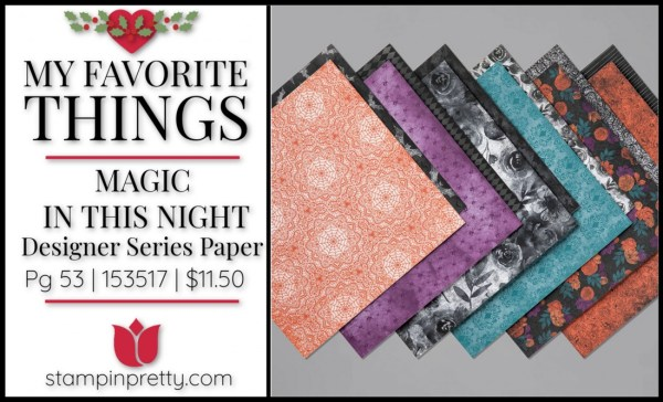 My Favorite Things - Magic In This Night DSP by Stampin' UP!