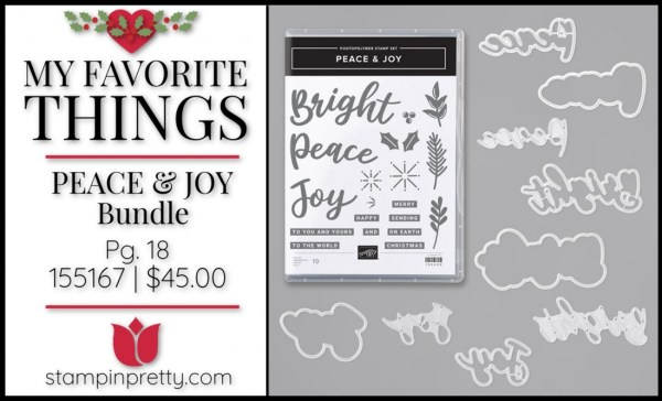My Favorite Things - Peace & Joy