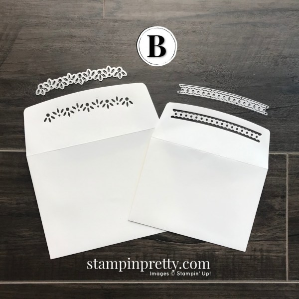 B. Ornamental Envelopes Bundle from Stampin' Up! by Mary Fish, Stampin' Pretty