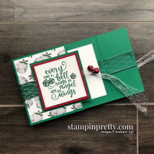 Create this card using the Christmas Means More Stamp Set from Stampin' Up! Christmas Card by Mary Fish, Stampin' Pretty (1)