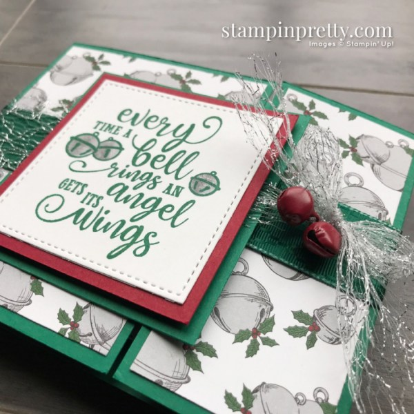 Create this card using the Christmas Means More Stamp Set from Stampin' Up! Christmas Card by Mary Fish, Stampin' Pretty (3)