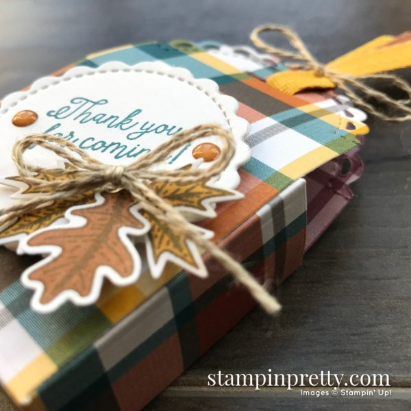 Create these fall party favors with the Little Treat Bundle from Stampin' Up! Mary Fish, Stampin' Pretty (1)