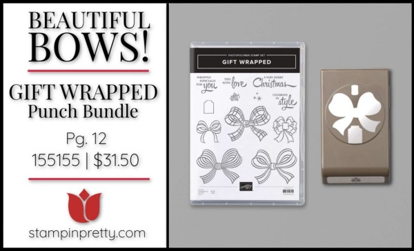 Gift Wrapped Bundle from Stampin' Up! 155155 $31.50
