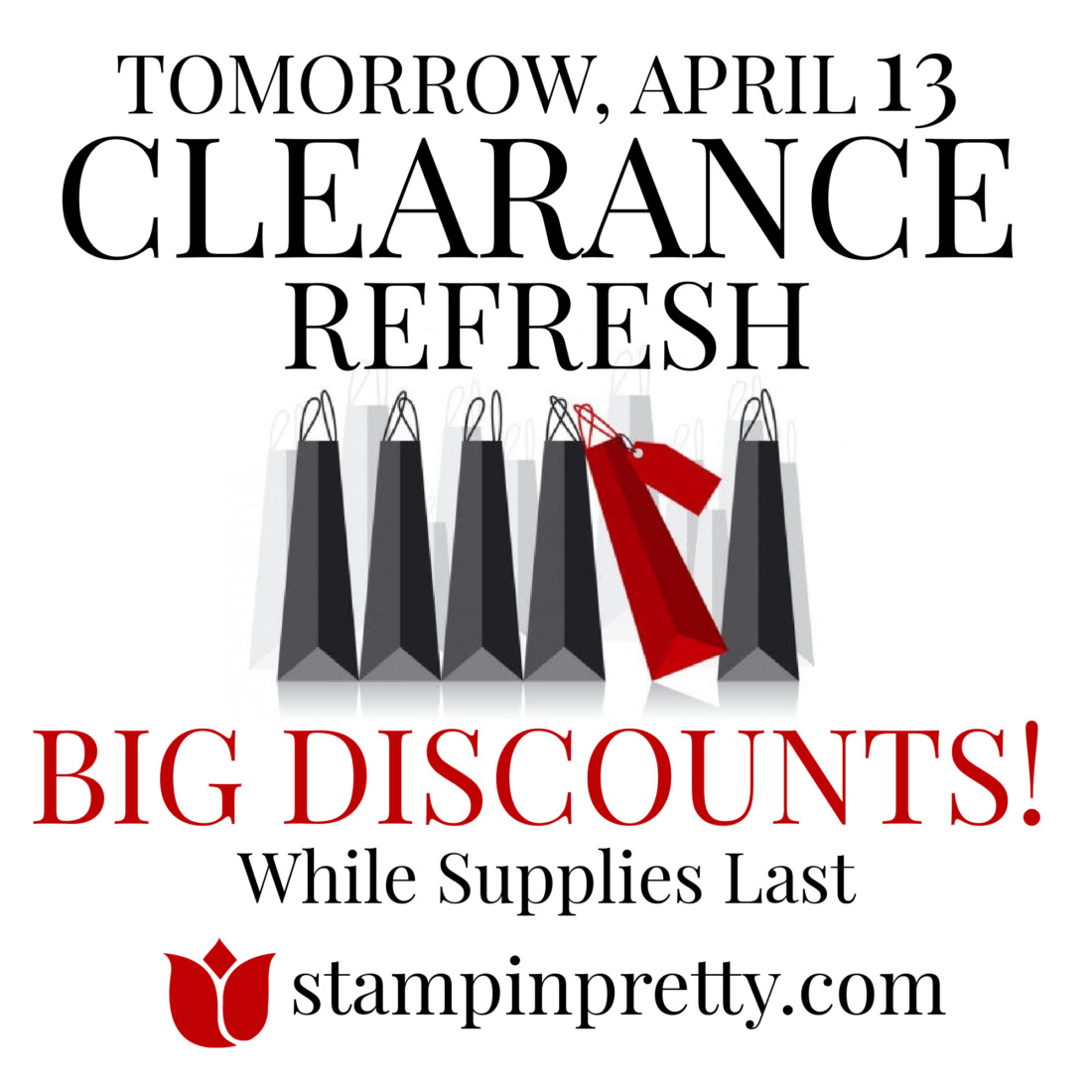 starts tomorrow stampin up clearance