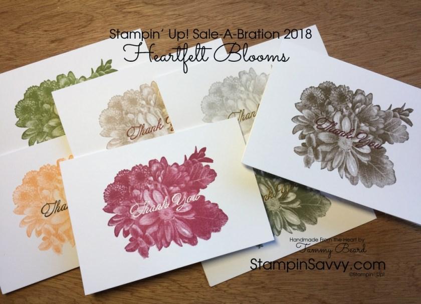 Heartfelt Blooms Quick Thank You