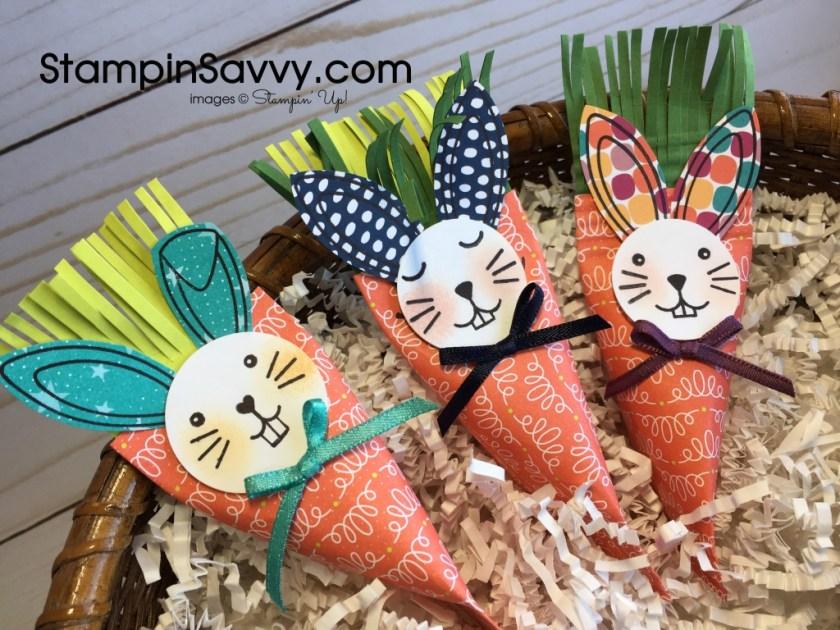Easy & Quick treat holders - carrots