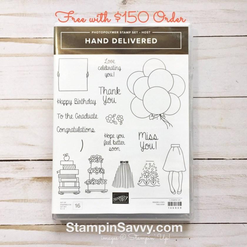hand delivered stampinup stampin up stampin savvy