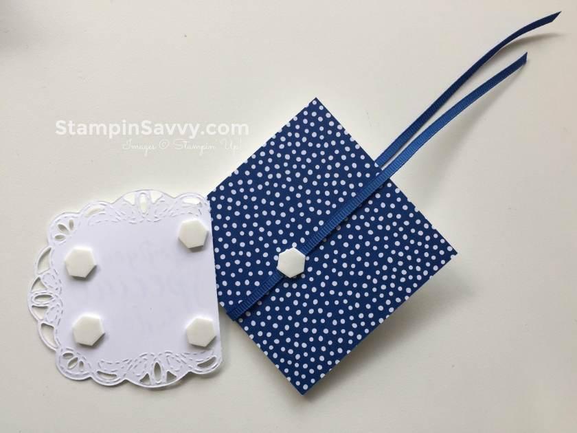 stitched all around mini cards
