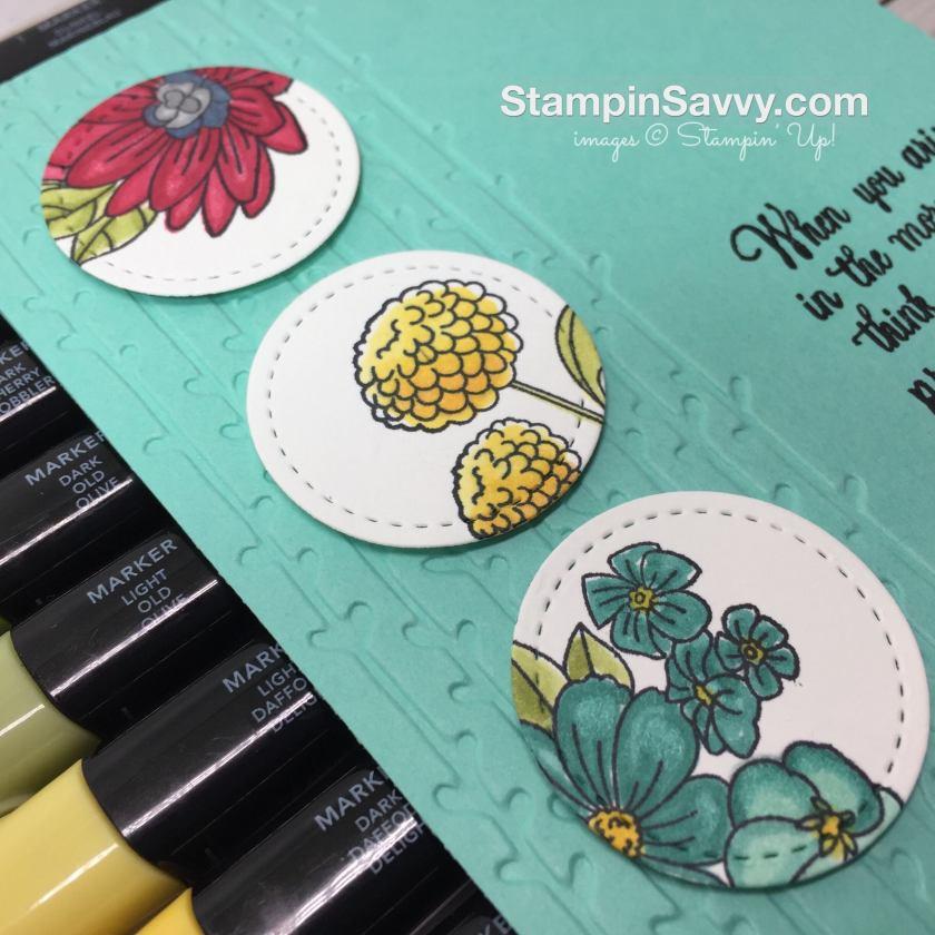 su accented blooms closeup card ideas stampin up stampinup stampin savvy stampinsavvy tammy beard