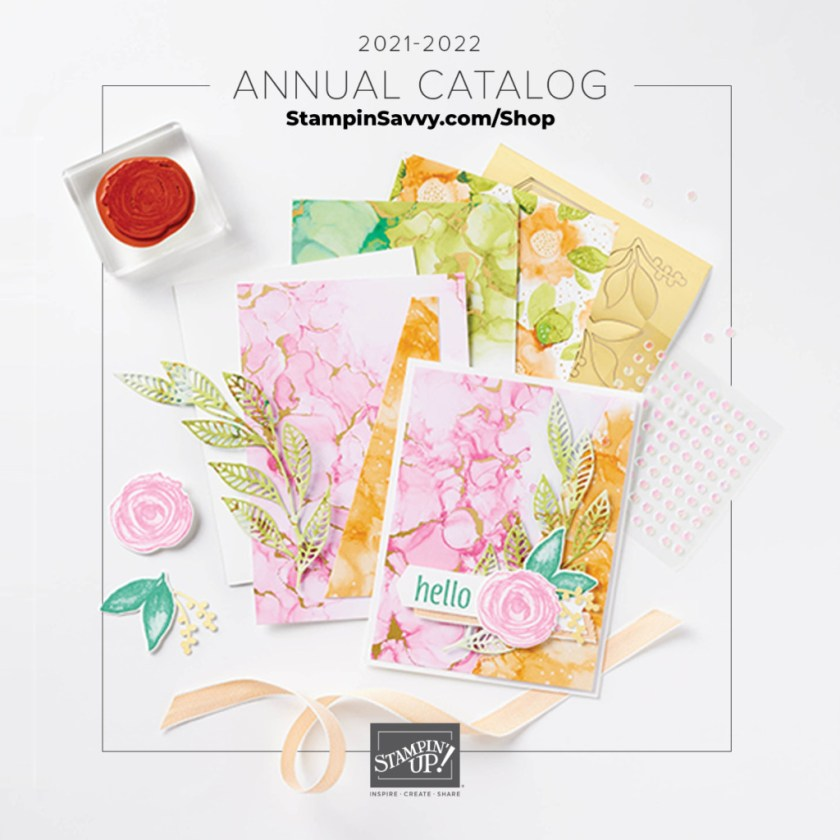 2021-22 Annual Catalog Cover Stampin' Up!