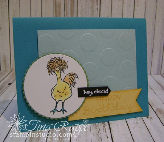 Stampin' Up! Sale-a-bration 2017, Hey Chick Stamp Set, Stampin' Studio