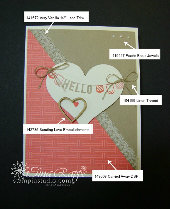 Stampin' Up! Any Occasion stamp set, Carried Away DSP, Stampin' Studio