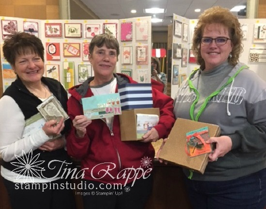 Stampin' Sisters Retreat, Card Contest Winners,  Stampin' Studio