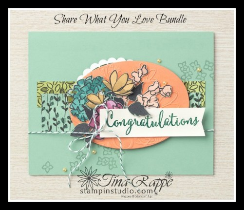 Stampin' Up! Gotta Have it All Bundle, Share What You Love Suite, Stampin' Studio