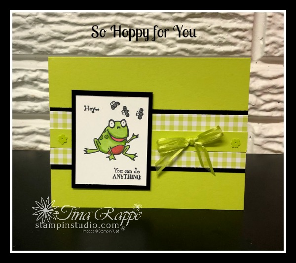 Stampin' Up! So Hoppy for You,stamp set, Stampin' Studio