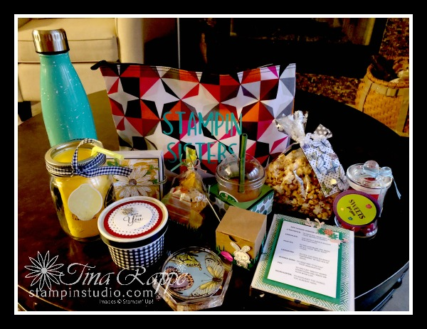 Stampin' Up! On Stage, Stampin' Sisters Gifts, Stampin' Studio