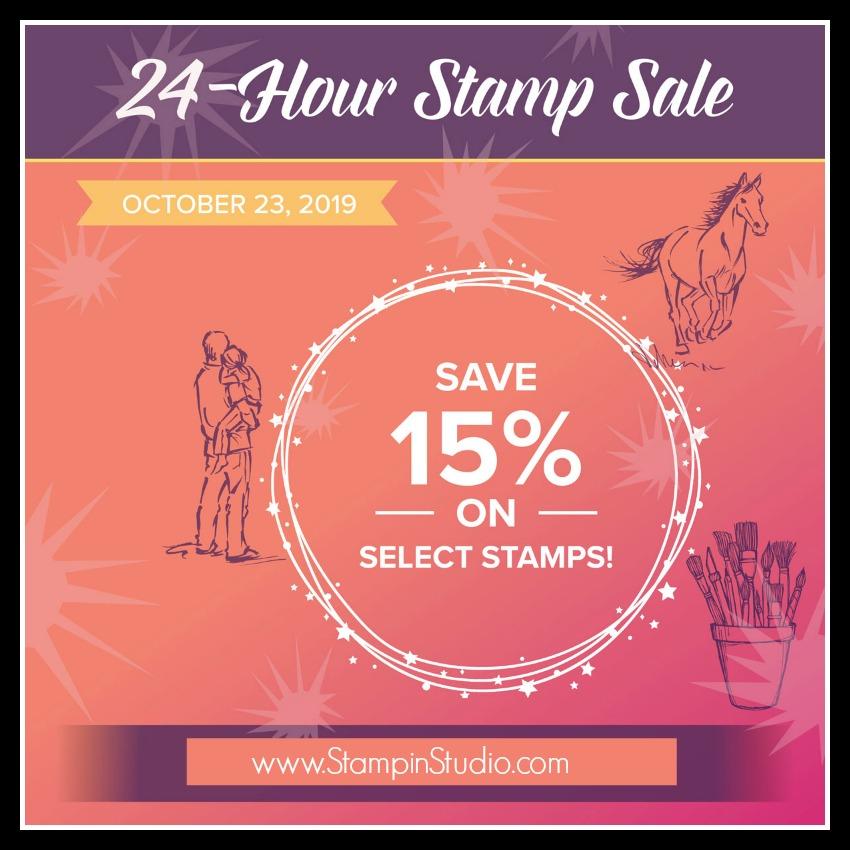 Stampin' Up! 24 hour stamp sale, Stampin' Studio