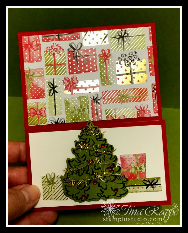 Stampin' Up! Most Wonderful Time Product Medley, Gift Card Holder, Stampin' Studio