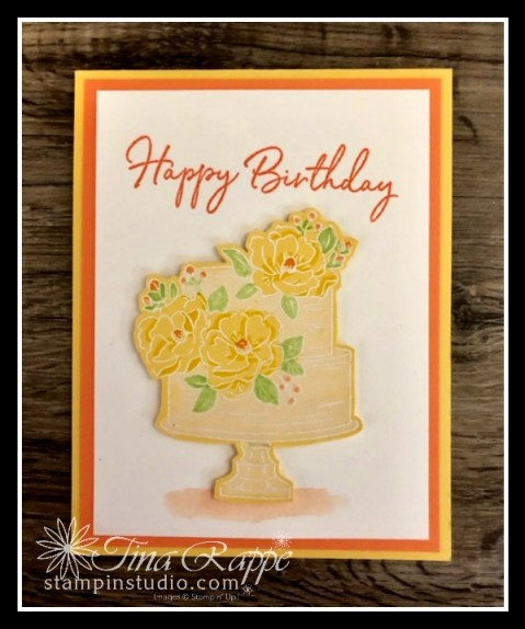 Stampin' Up! Happy Birthday to You Sale-a-bration stamp set, Stampin' Sisters retreat, Stampin' Studio