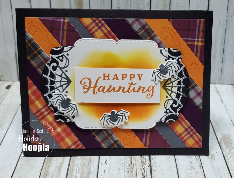 Stampin' Up! Plaid Tidings Suite, Stampin' Sisters Holiday Hoopla, Stampin' Studio