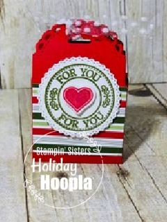 Stampin' Up! Heart Warming Hugs Suite, Stampin' Sisters Holiday Hoopla, Stampin' Studio