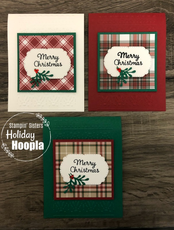 Stampin' Up! Celebration Tidings Bundle, Stampin' Sisters Holiday Hoopla, Stampin' Studio