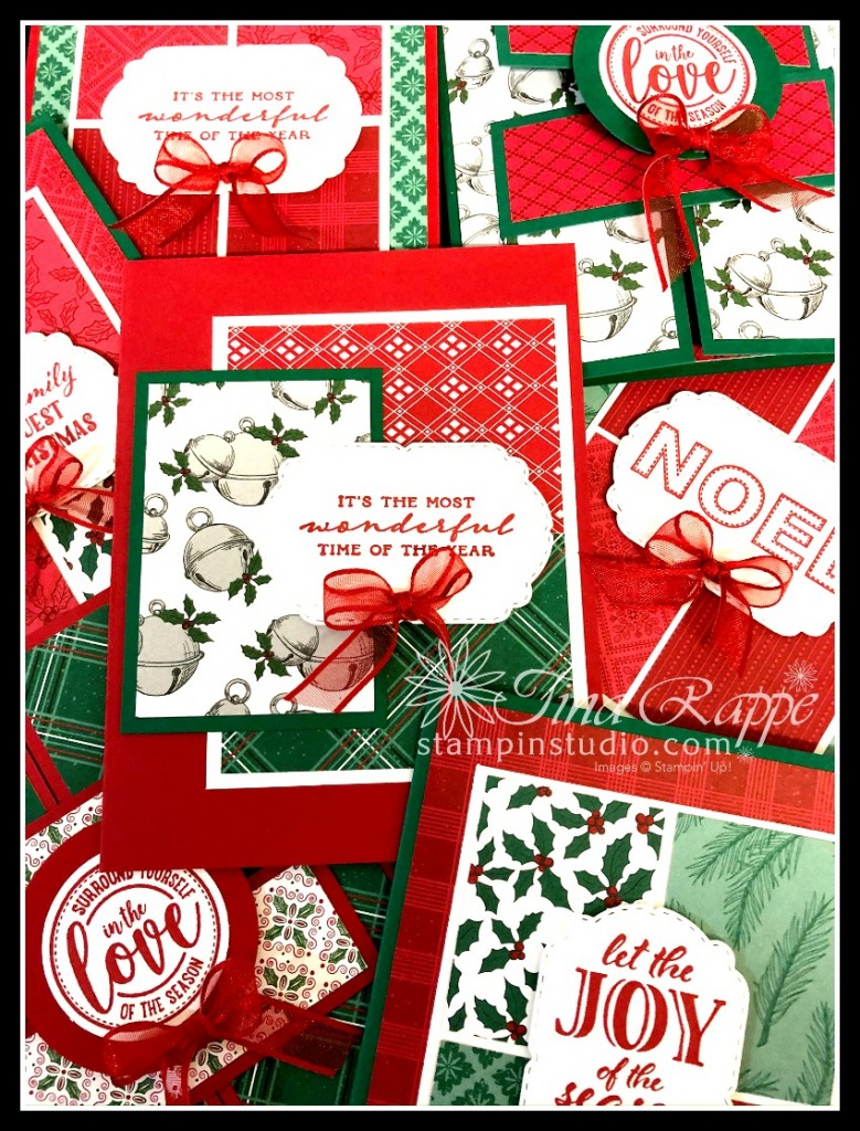 Stampin' Up!, 7 Sheet Wonder Christmas Card Class, Stampin' Studio