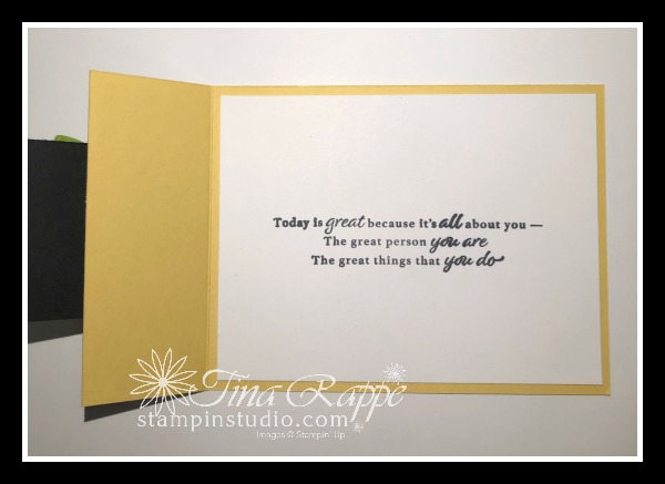 Stampin' Up! Happy Thoughts stamp set, Flower & Field DSP, Fun Fold cards, Stampin' Studio