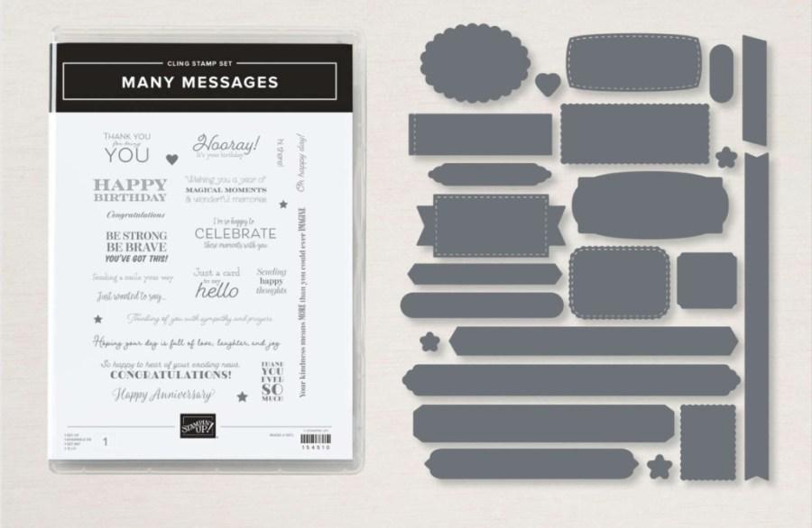 Stampin' Up! Many Messages Bundle, Stampin' Studio